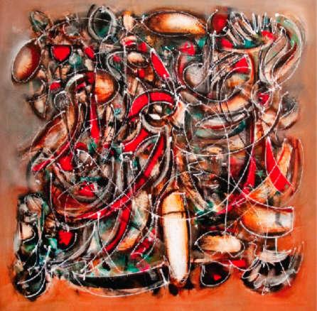 Discurso abstracto. Exposición en Shanghai, China