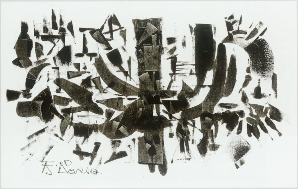 Discurso Abstracto Blanco y Negro